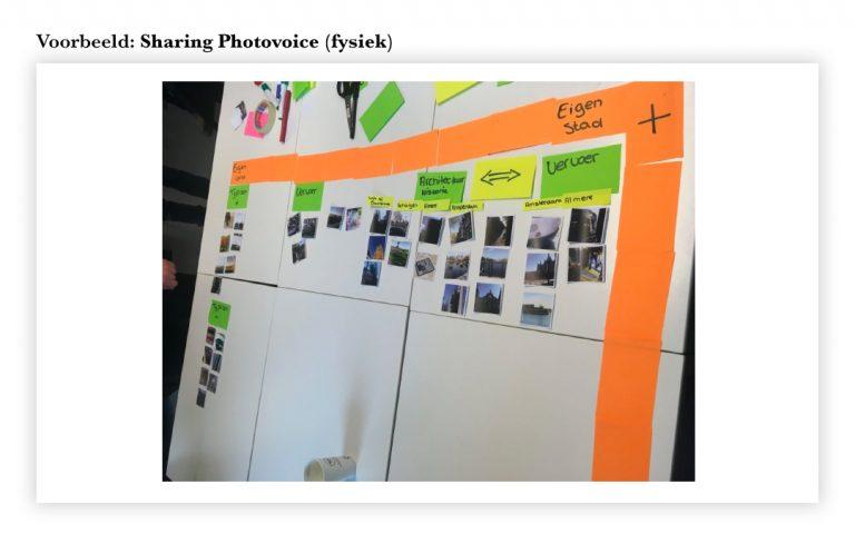 Physical Sharing Photovoice